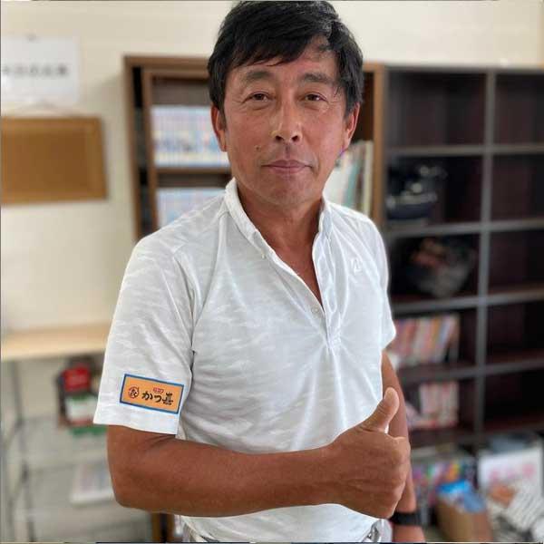プロゴルファー浅野展行プロ