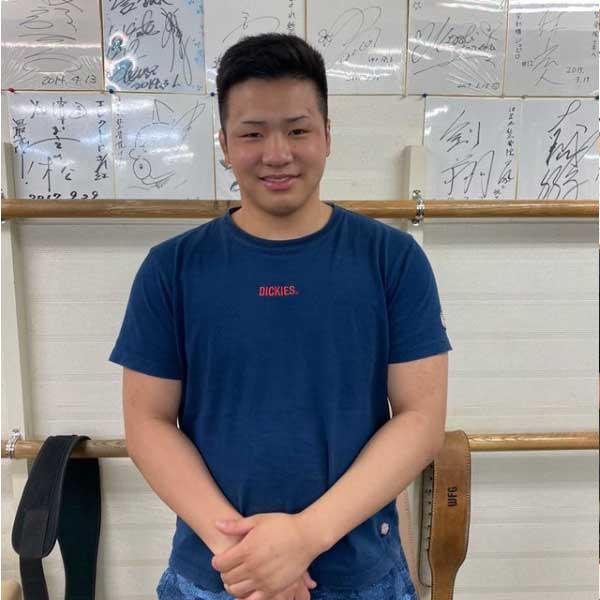 近畿大学相撲部:藤澤詩音様
